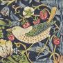 Tapet William Morris - Strawberry Thief - William Morris Strawberry Thief Blå