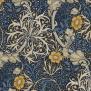 Tyg William Morris - Seaweed - Tyg William Morris Seaweed Blåblå