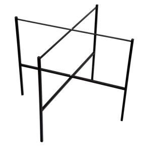 Brickstativ stål 65 cm - Brickstativ stål 65 cm Svart