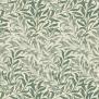Tyg William Morris - Willow Boughs Minor - William Morris - Willow Boughs Minor Gröngrön