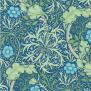 Tapet William Morris - Seaweed - William Morris Seaweed Blåblå
