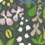 Tyg Ljungbergs - Herbarium - Tyg Herbarium Grå