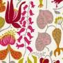 Tyg Ljungbergs - Herbarium - Tyg Herbarium Orange