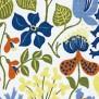 Tyg Ljungbergs - Herbarium - Tyg Herbarium Vit