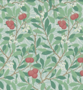 Tapet William Morris - Arbutus - Tapet William Morris - Arbutus Grönröd