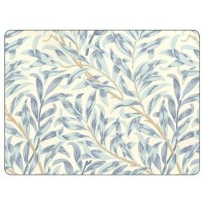 Bordstablett William Morris - Willow Bough Blå