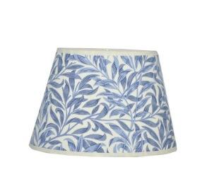 Lampskärm William Morris - Willow Bough Minor Blå Oval 20 - Lampskärm William Morris - Willow Bough Minor Blå Oval 20