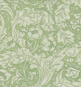 Tapet William Morris - Bachelors Button - William Morris Bachelors Button Grön