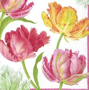 Pappersservett Caspari -  Tulip