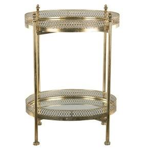 Spegelbord/Drinkbord Mässing