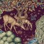 Tyg William Morris - The Brook Sammet - The Brook Sammet röd
