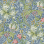 Tyg William Morris - Golden Lily - Golden Lily Ljusblå