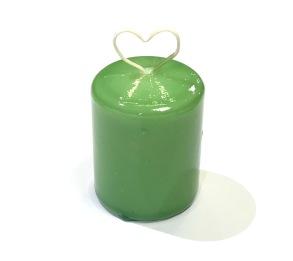 Bordsljus 4x5 cm Grön lack