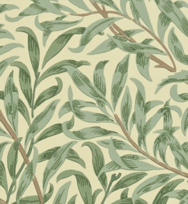 Tapet William Morris - Willow Boughs - William Morris Willow Boughs Grön