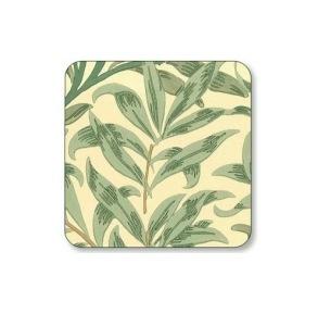 Coasters William Morris - Willow Bough Grön