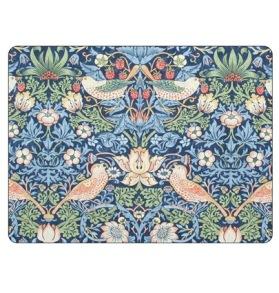 Bordstablett William Morris - Strawberry Thief Blå