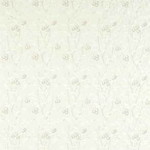 Tyg Pure William Morris - Arbutus Embroidery - Tyg Pure Arbutus Embroidery White