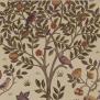 Tyg William Morris - Kelmscott tree - William Morris Kelmscott tree Lila