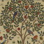 Tyg William Morris - Kelmscott tree - William Morris Kelmscott tree Röd
