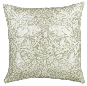 Kudde William Morris Pure - Brer Rabbit Beige