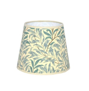Lampskärm William Morris - Willow Bough Minor Grön Rund 20 - Lampskärm William Morris - Willow Bough Minor Grön Rund 20