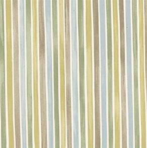 Tyg Emma Bridgewater - Polka Stripe - Tyg Emma Bridgewater - Polka Stripe Gröngråblå