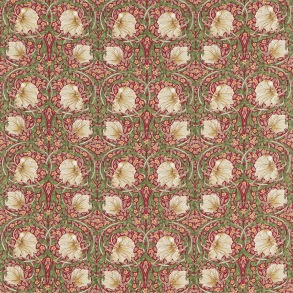 Gardinlängd William Morris - Pimpernel Röd - Gardinlängd <1.85 Pimpernel Röd