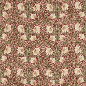 Gardinlängd William Morris - Pimpernel Röd - Gardinlängd <1.85 Pimpernel Röd