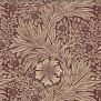 Tyg William Morris - Marigold - William Morris-Marigold röd