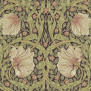Tapet William Morris - Pimpernel - Tapet William Morris - Pimpernel Bullrush/Russet