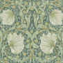 Tapet William Morris - Pimpernel - Tapet William Morris - Pimpernel Privet/Slate
