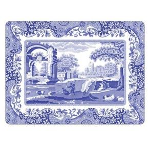 Bordstablett Spode - Blue Italian