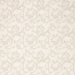 Tyg Pure William Morris - Bachelors Button Embroidery - Tyg Pure Bachelors Button Embroidery Flax