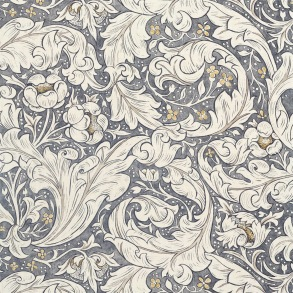 Tyg Pure William Morris - Bachelors Button Print - Tyg Pure Bachelors Button Print Ink