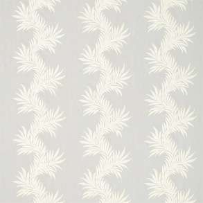 Tyg Pure William Morris - Marigold Trail Embroidery - Tyg Pure Marigold Trail Embroidery Grey