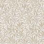Tyg Pure William Morris - Willow Bough Broderad - Tyg Pure William Morris - Willow Bough Broderad VitBeige