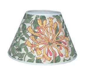 Lampskärm William Morris - Honeysuckle Rund 25 - Lampskärm William Morris - Honeysuckle Rund 25