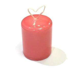 Bordsljus 4x5 cm Rosa lack