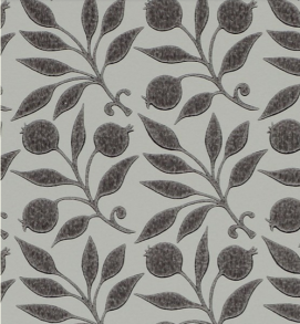 Tapet William Morris - Rosehip - William Morris Rosehip Svart