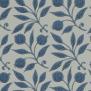 Tapet William Morris - Rosehip - William Morris Rosehip Mörkblå
