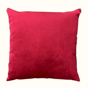 Kudde Sammet - Red