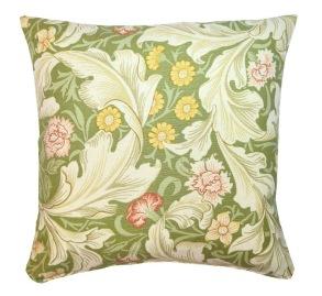 Kudde William Morris - Leicester grön