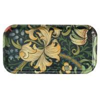 Cocktailbricka William Morris - Golden Lily Mörkblå