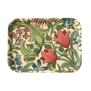 Frukostbricka William Morris - Golden Lily Creme
