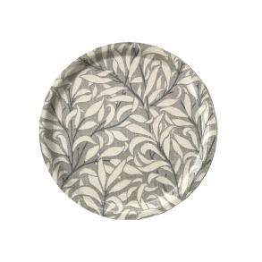 Rund bricka 31 William Morris - Willow Bough Pure Grå
