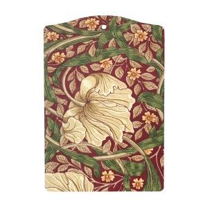 Skärbräda William Morris - Pimpernel Röd