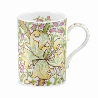 Mugg William Morris - Golden Lily Cream