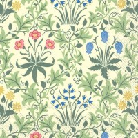 Pappersservett William Morris - Celandine Creme