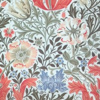 Pappersservett William Morris - Compton Vit