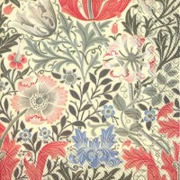 Pappersservett William Morris - Compton Creme
